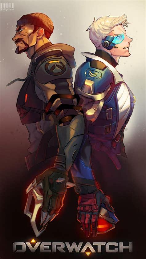 reaper  soldier  overwatch wallpapers overwatch