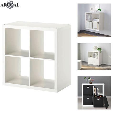 Kallax Ikea by Ikea Kallax White 4 Shelving Unit Display Storage