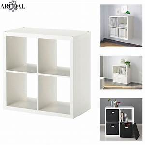 Ikea Kallax Kinderzimmer : ikea kallax white 4 shelving unit display storage bookcase expedit 77 x 77 ebay ~ Orissabook.com Haus und Dekorationen