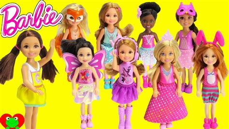 Barbie Dolls Small Chelsea And Friends Youtube