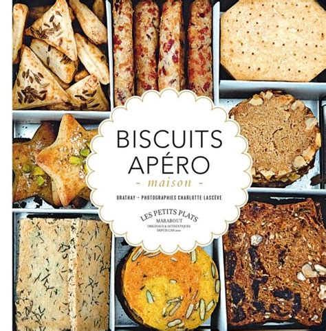 collection marabout cuisine livre biscuits apéro maison feuilletés gressins