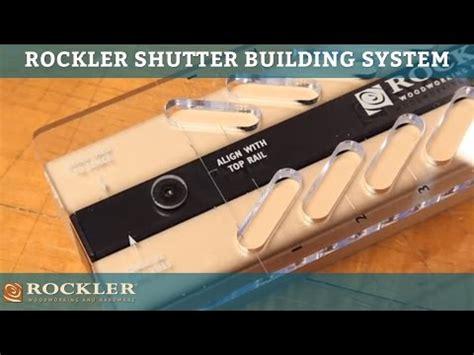 fixed louver shutter jig