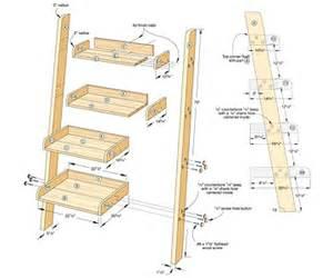 pdf diy leaning ladder shelf plans download loft bunk bed with desk plans furnitureplans