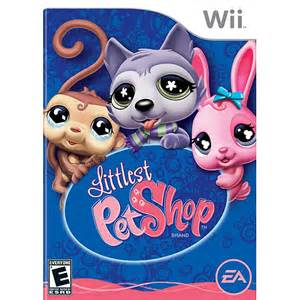 Cokem International Preown Wii Littlest Pet Shop
