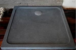 Receveur Douche Extra Plat : receveur de douche squarium 100x100cm en pierre v ritable ~ Dailycaller-alerts.com Idées de Décoration