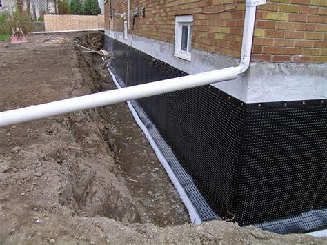 leaking foundation repair ottawa waterproofing