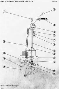 American Flyer Semaphore 761 Parts List  U0026 Diagram