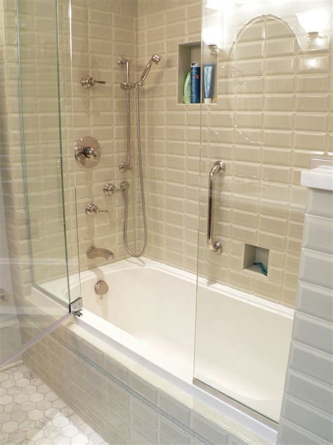 Bath Shower Glass by Brushed Nickel Shower Fixtures