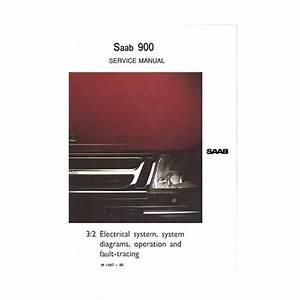 Service Manual Electrical  Gb  Saab 900 De Saab