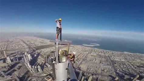 Burj Khalifa Top Floor Owner by Burj Khalifa Platform Inspection Top Of The Spire Andy