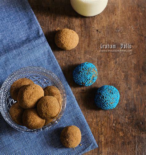 graham balls  peach kitchen