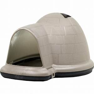Igloo dog house petmate indigo dog home dog igloo petco for Indigo dog house