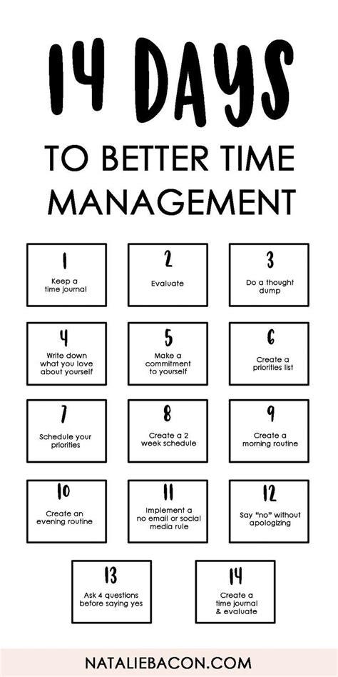 management  days   time management