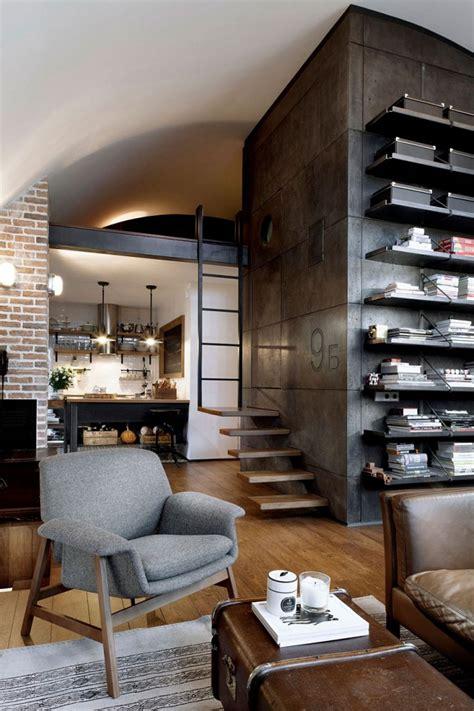 how to decorate industrial style d 233 coration d un loft mansard 233 avec un style vintage