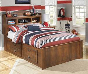 Barchan, Full, Bookcase, Underbed, Storage, Bed, From, Ashley