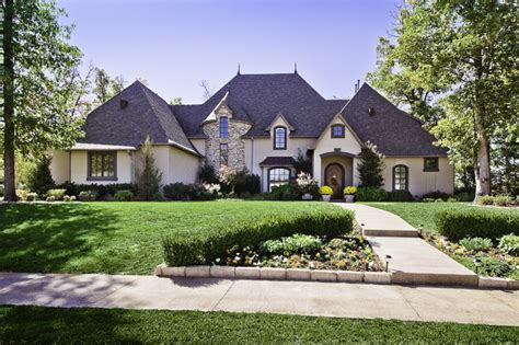 Traditional Country Home by Clear Creek Country Club Home Traditional Exterior