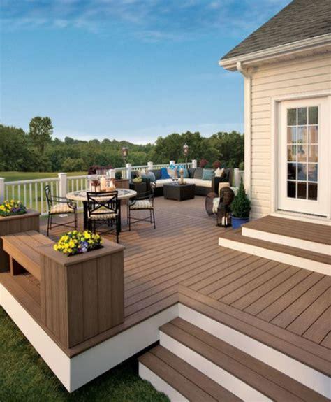 diy wooden deck