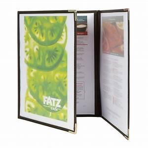 Protege Menu Restaurant : prot ge menus a4 crystal 2 pages ~ Teatrodelosmanantiales.com Idées de Décoration