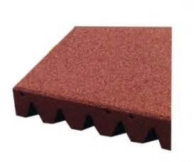 piastrelle gomma antitrauma piastrelle antitrauma rosso 50x50 sp 11cm c spinotti hic