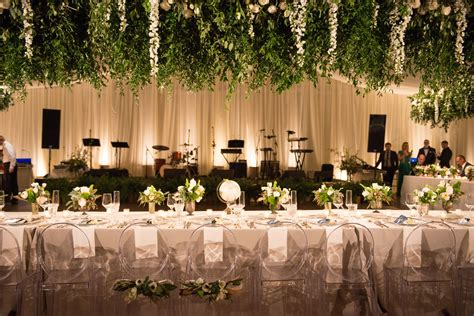 greenery and flowers hanging from ceiling in 2019