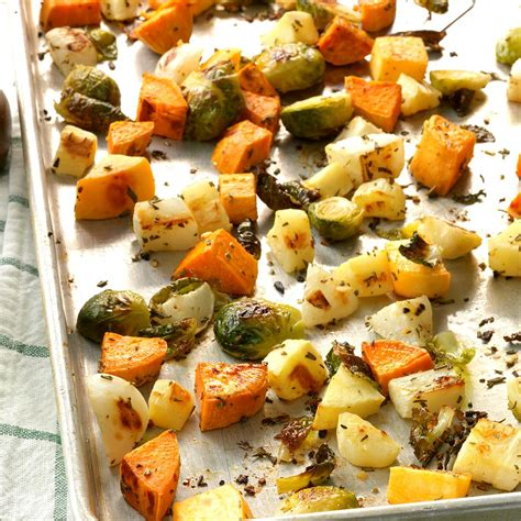 Rosemary Root Vegetables Recipe  Taste Of Home