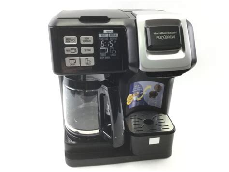 When it comes to hamilton warranty, you can download a pdf file from amazon here, or have a look at it at their official website. Hamilton Beach FlexBrew 2-Way Coffee Maker - Black for sale online | eBay