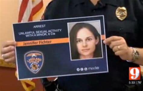 Jennifer Fichter, Florida Teacher, Arrested After Having ...