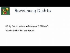 Masse Berechnen Dichte : berechnung der dichte prismen ~ Themetempest.com Abrechnung