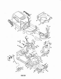 Craftsman Model 247288820 Lawn  Tractor Genuine Parts