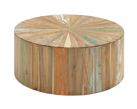 You'll find a fantastic diy idea you're sure to love! Decmode Rustic Reclaimed Wood Round Coffee Table | Best Boho Home Products at Walmart | POPSUGAR ...