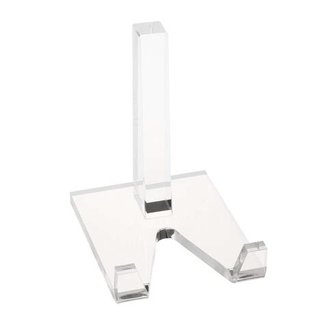 clear tabletop acrylic plate display standsimple desktop acrylic book stand holder buy