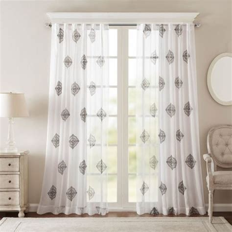 Kohls White Sheer Curtains by 10 Best Sheer Curtains 2017 Pretty Sheer Curtain Panels