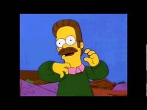 Metal Ned Flanders - Riddly Diddly [Heavy Nedal] - YouTube