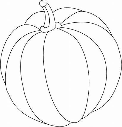 Pumpkin Coloring Pages Gourd Drawing Brinjal Giant