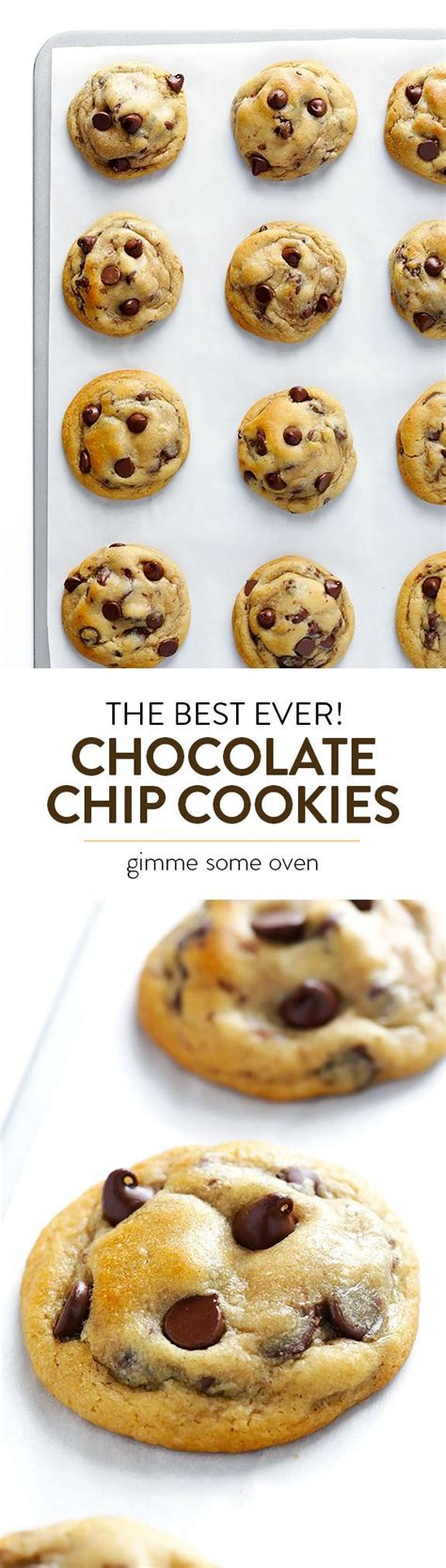 The Best Chocolate Chip Cookies  Receta  (cookies And