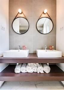 Mirroir Salle De Bain : id e d coration salle de bain deux miroirs pour une ~ Dode.kayakingforconservation.com Idées de Décoration