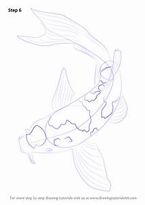 Learn How to Draw a Koi Fish (Fishes) Step by Step ...