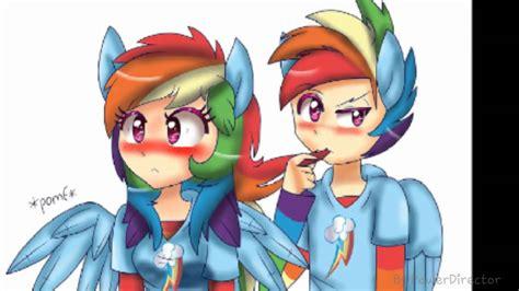 Rainbow Dash × Rainbow Blitz Pmv ~shower