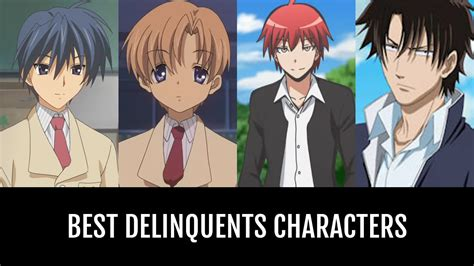 delinquents characters anime planet