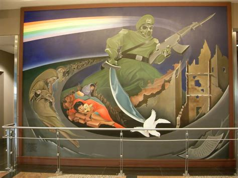 denver international airport murals meaning sinister the bank of america murals conspiracy