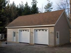 Spectacular Car Garage Kit by 2 Car Post Frame Garage With Attic Customer Projects