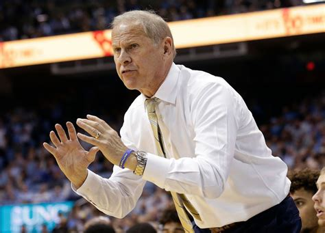 Report: University of Michigan basketball coach John ...