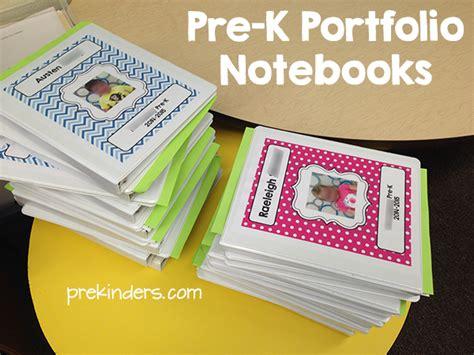 pre k student portfolios prekinders 508 | prek portfolio