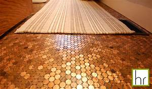 Beatrice banks b list and penny tile floor for Images of penny floors