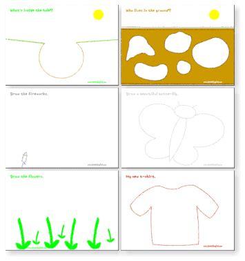 imagination worksheets