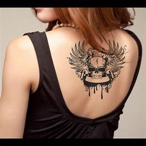 Dessin Tete De Mort Avec Rose : tatouage ephemere tatouage temporaire t te de mort vampire ~ Melissatoandfro.com Idées de Décoration