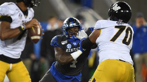 Kentucky football vs. Missouri: TV channel, kickoff time ...
