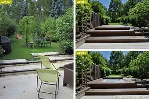 idee amenagement jardin zen awesome jardin zen dans une With awesome comment amenager sa piscine 2 avant apras amenager un jardin tout en longueur
