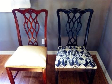 dining room chairs and living my style diy dining room chair makeover diy