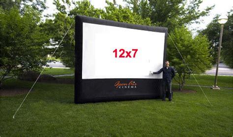 backyard screen rentals outdoor cinema package av rental